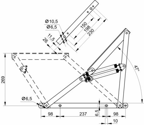 Механизм подъма 237
