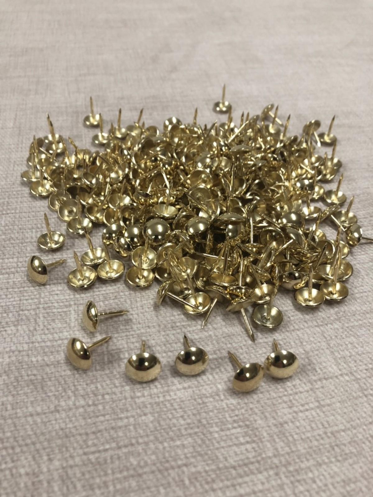 Декоративные гвозди 10,5мм Gold